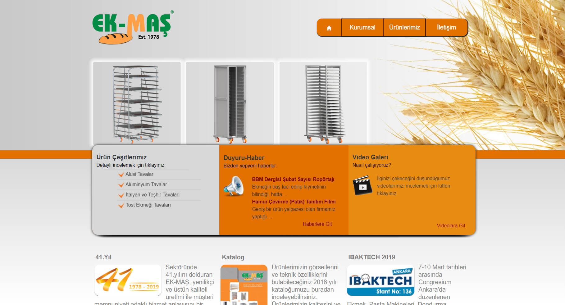 Web sayfası yazılım